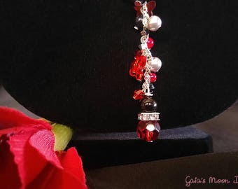 Vampiress Lilith Necklace and Earrings