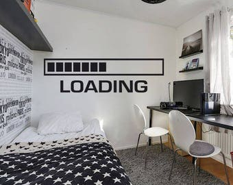 Gamer Wall Decal Xbox Loading Controller Video Game Wall Decals Gamer Wall  Decal Customized For Kids Part 67