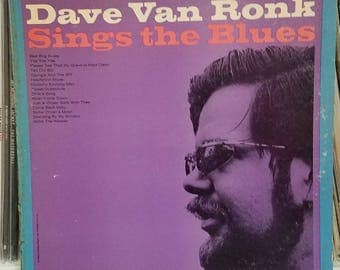 Dave Van Ronk Dave Van Ronk Sings The Blues 1965 Blues/Folk LP Verve Folkways Records FV 9006