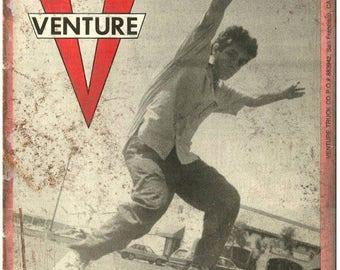 "Venture Trucks Mark Gonzales Skateboard Retro 10"" x 7"" Reproduction Metal Sign"