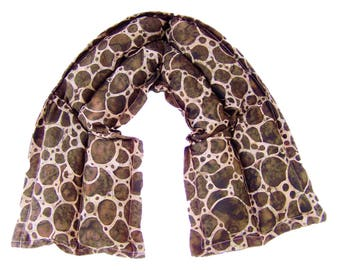 Neck heating pad, Neck pillow, Heat therapy, Hot cold neck pack, Neck wrap, Microwave heating pad, Brown Giraffe Neck Wrap