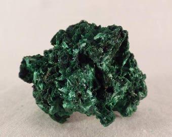 Congo Silky Malachite Natural Specimen - 40mm, 25g