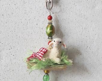 Pocket pendant, Taschenbaumler, charm Eastern I