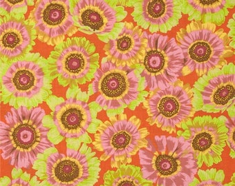 PHILLIP JACOBS PAINTED DAISY PATCHWORK fabric