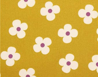 Mustard made patchwork fabric in japan