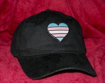 LGBT Transgender (trans) Pride Ballcap - Hat