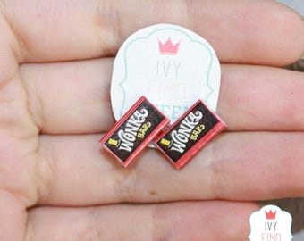 Mini earrings Wonka Bar