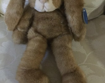 Purrfection Easter Bunny By M.J.C  /1992 Stuffed Bunny