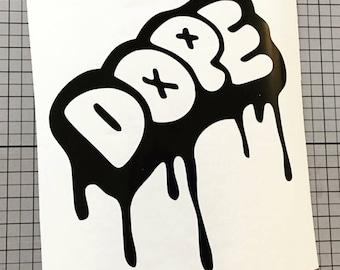 Dope* Vinyl Decal Sticker