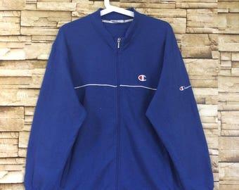 Sale vintage CHAMPION sweater zip up