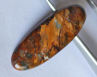 Best Quality Pietersite Cabochon, Size 33X12X4 MM, African Stone, Calibrated, Loose Cabochons, Jewellery Gemstone, Semi Precious Stone, 4793