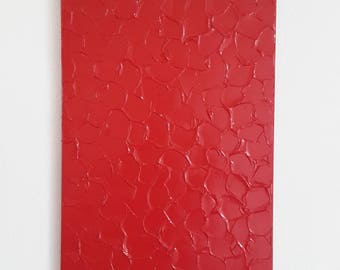 Bright Red Painting, Nice Red Painting, Red Textured Painting, Abstract Red Art, Red Painting, Original Abstract Art