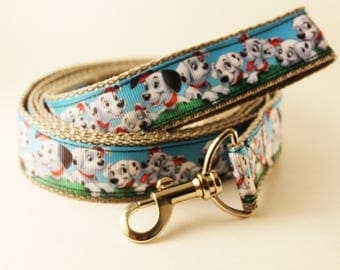 Custom Disney 101 Dalmation 5ft Dog Leash