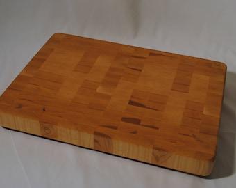 Large End Grain Maple Butcher Block Cutting Board