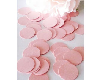 Pink Confetti, Pink Party Decor, Pink Babyshower