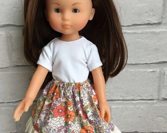 Skirt For Corolle Les Cheries Paola Reina Doll Clothes