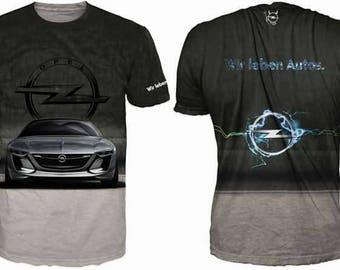 New ultramodern 3D  High Quality Opel   Men's T-shirt