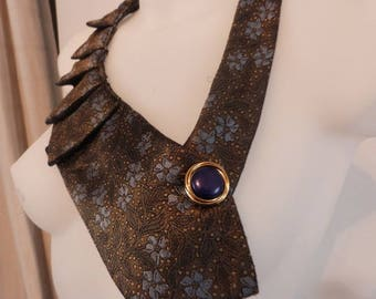 Retro: neck tie Brown and gold