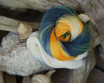 Hand Dyed Sock Yarn - Sea Urchin