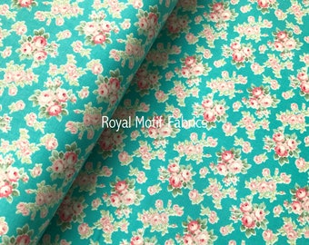 Half Yard - RJR Fabrics Mon Cheri - Rose Bouquet Caicos by Robyn Pandolph - Sold by Half Yard - 100% Cotton