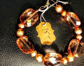 Fall color bracelet