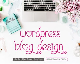 Blogging Website Design, Wordpress Blog Website Design, Custom Website Design, Blog, Fashion Blog Website, Home Decor Blog, Unique Design