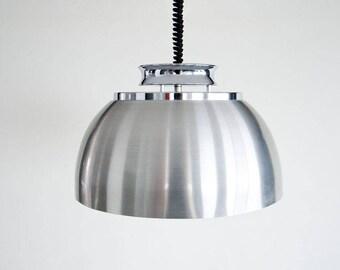 Hanging lamp, shuttle lamp, Dijkstra, seventies