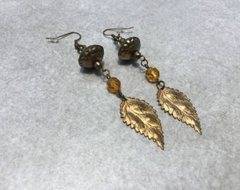 Steampunk Earrings Flapper Earrings Downton Abbey Earrings Assemblage Earrings