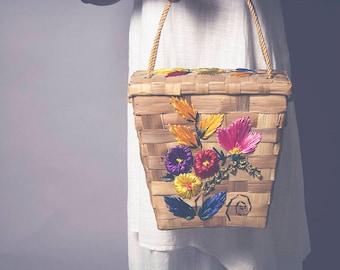 Carnation Basket