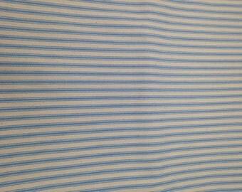 2.5 Yards Light Blue Ticking