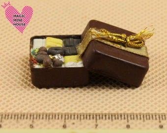 Dolls House Miniature Box of Chocolates