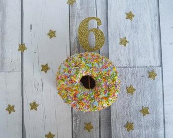 6th Birthday Cupcake Topper, 6th Birthday Party, Number Cake Topper, Birthday Party Decor, Party Supplies, 6th Birthday Topper, Party Decor