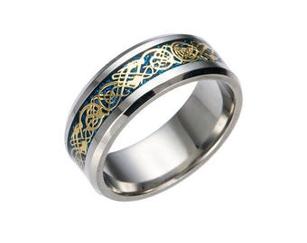 Men's Dragon Ring