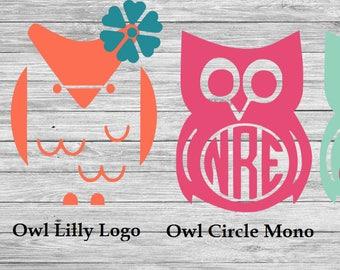 Owl Decals