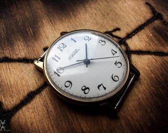 Old Vintage Rakieta Wrist Watch Made In USSR.