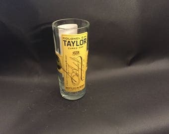 E. H. Taylor EH Taylor Candle  Cured Oak Bourbon Whiskey BOTTLE Soy Candle. Made To Order !!!!!!!
