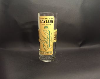 Colonel E. H. Taylor EH Taylor Candle Four Grain Bourbon Whiskey BOTTLE Soy Candle. Made To Order !!!!!!!