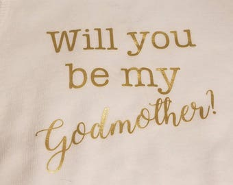 how to ask someone to be a godmother