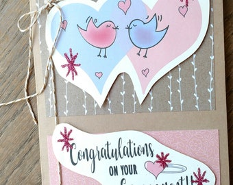 Congratulations on your Engagement Card, Engagement Card, Happy you're Engaged Card