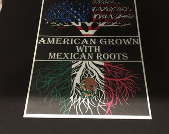 American grown with Mexican roots.