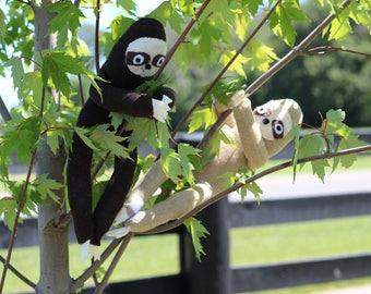 Hand Sewn Sock Sloth