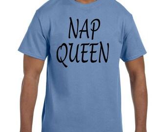 Funny Humor Tshirt Nap Queen xx50115mxx