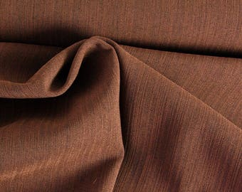 Clothing fabric stretch stripe Brown