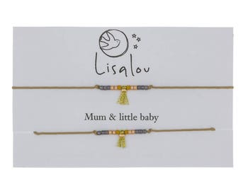 Little baby and mum