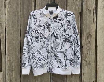 Rare!!! Defective struct full print sweatshirts / jumper / hoodie