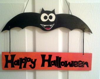 Halloween Bat Door Hanger