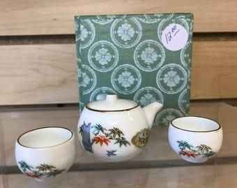 Mini China Tea Set