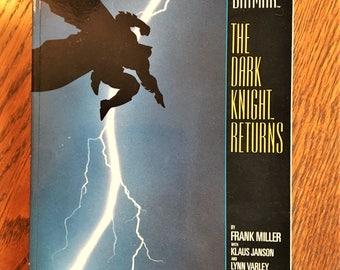 BATMAN The Dark Knight Returns #1 Frank Miller 1986 Fifth Printing Graphic Novel DC Comics