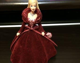 Hallmark Holiday Barbie Ornament 2002