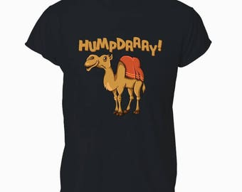 Humpday Funny Wednesday Camel Hump Day Humour Unisex Tee Top T-shirt T Shirt Mens Womens